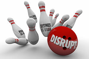 disruption what business is in